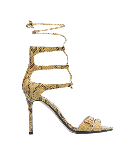 Mango Snake-effect sandals___Hauterfly