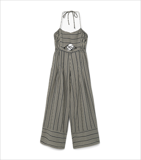 Mango Striped Cotton Jumpsuit__Hauterfly