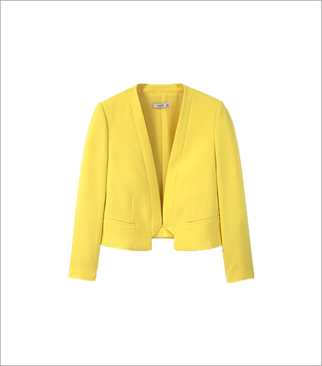 Mango Yellow Crop Jacket_Cropped Jacket Trend Spring Summer 2016_Hauterfly