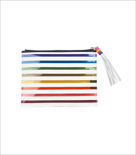 Mary Katrantzou_Rainbow Striped Clutch_Hauterfly