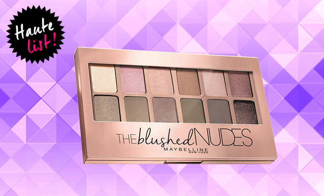 Maybelline New York The Blushed Nudes Palette_Hauterfly