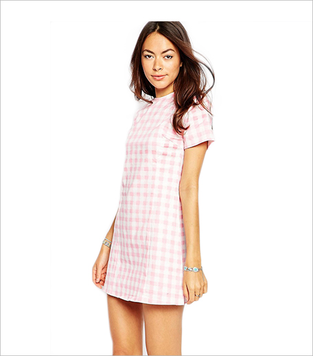 Motel Albey Dress In Pink Gingham_ASOS_Hauterfly