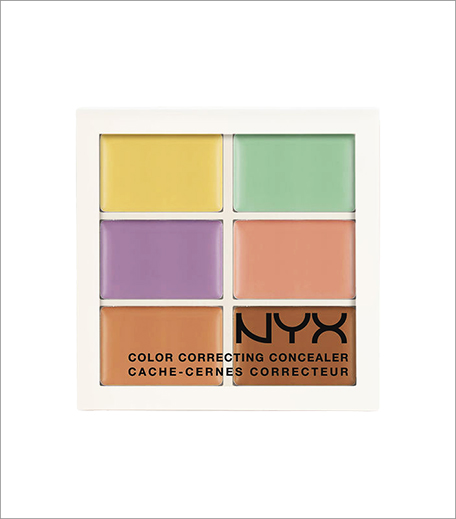 NYX Colour Correcting Concealer Palette_Hauterfly