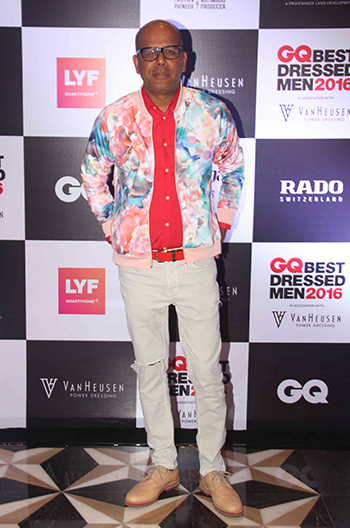 Narendra Kumar Ahmed at GQ Best Dressed Men 2016 held at Four Seasons Hotel, Mumbai _ 02 June 2016