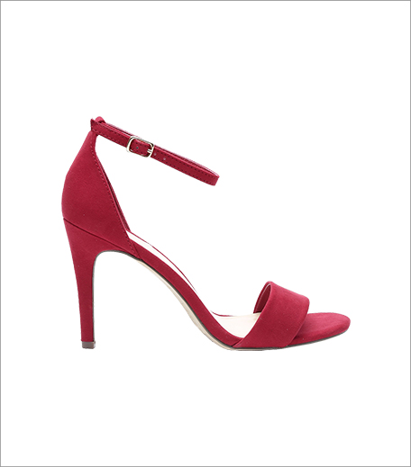 New Look Women Crimson Red Stilettos_Tuesday Shoesday Red Heels_Hauterfly