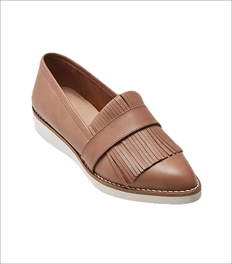 Next Tan Leather Tassel Flatform Loafers_Hauterfly