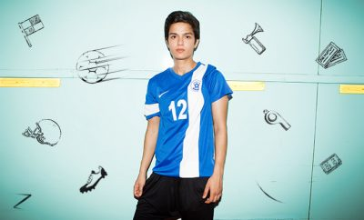Nike_Jyothi Ann Burrett_Striker_Indian Women's Football Team_Hauterfly