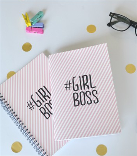 PROPSHOP GIRL BOSS NOTEPAD_HAUTERFLY