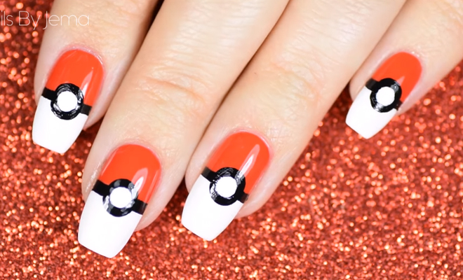 You Simply Have To Try These Pokmon Go Nail Art Ideas Hauterfly