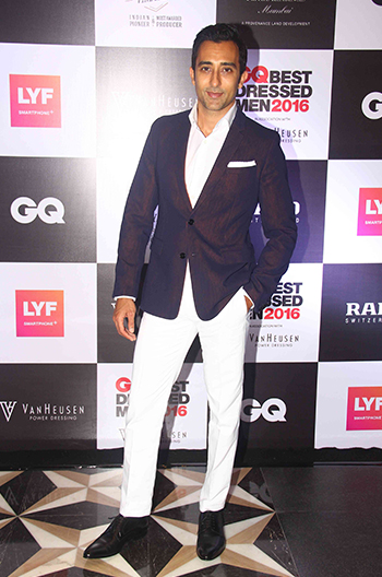 Rahul Khanna at GQ Best Dressed Men 2016 held at Four Seasons Hotel, Mumbai _ 02 June 2016