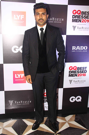 Ram Charan at GQ Best Dressed Men 2016 held at Four Seasons Hotel, Mumbai _ 02 June 2016