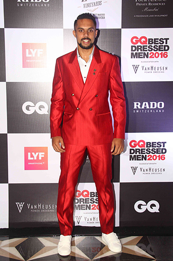 Robin Singh at GQ Best Dressed Men 2016 held at Four Seasons Hotel, Mumbai _ 02 June 2016