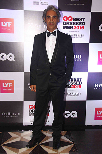 Samir Suhag at GQ Best Dressed Men 2016 held at Four Seasons Hotel, Mumbai _ 02 June 2016