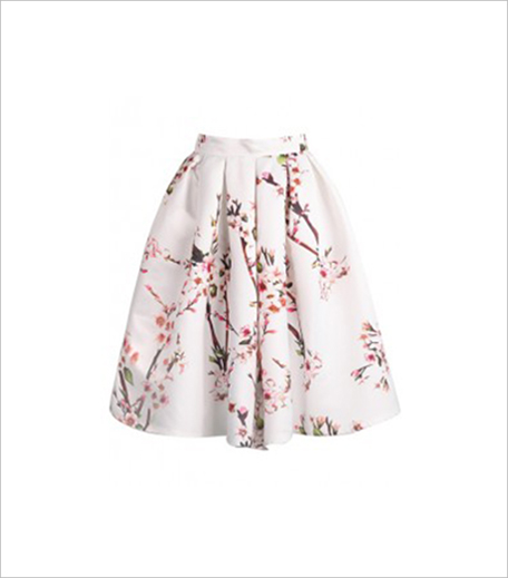 Shop That Outfit Cherry Blossom Skirt_hauterfly