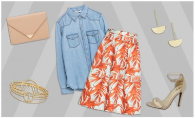 Simi's STeals_Patterned Skirt Outfit_Hauterfly