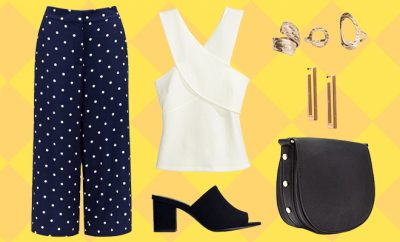 Simi's Steals_Polka Dotted Culottes Look_Hauterfly