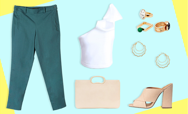 Simi's Steals_The Coloured Trouser Look_Hauterfly