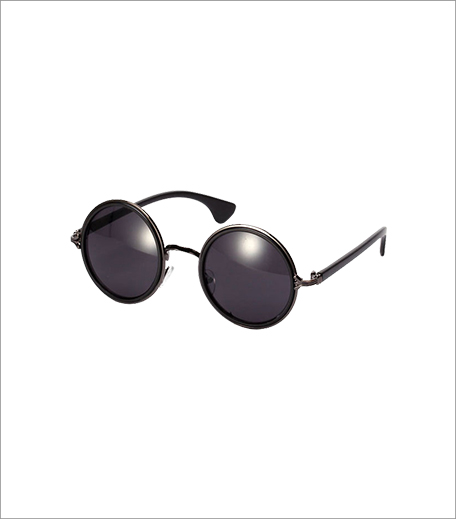 Simi's Steals_The Little Things Classic Round Sunglasses Black_Hauterfly