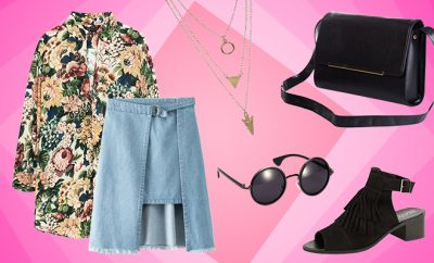 Simi's Steals_The Modern Floral Blouse Outfit_Hauterfly