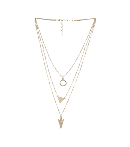 Simi's Steals_Toniq Gold Triple Layered Necklace_Hauterfly