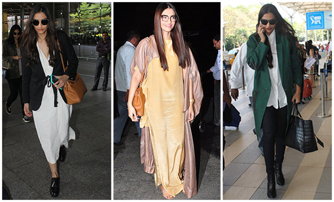 Sonam Kapoor_Best Of Celebrity Airport Style_Hauterfly