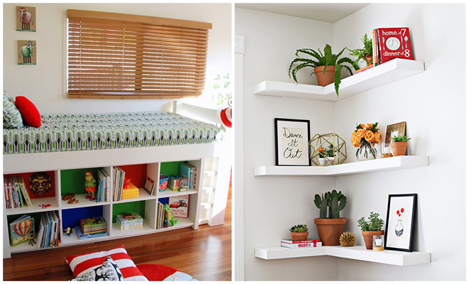 Storage Hacks For Small Spaces_Hauterfly