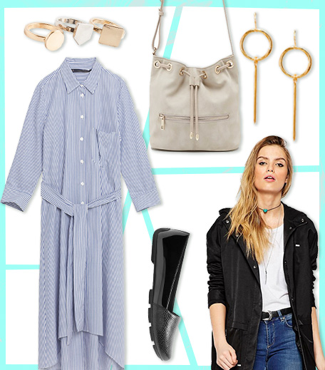 Striped Dress Outfit_What To Wear In Monsoon_Hauterfly