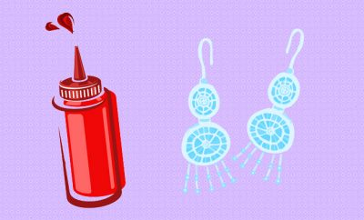 Style Hack_Clean Silver Earrings With Ketchup_Hauterfly