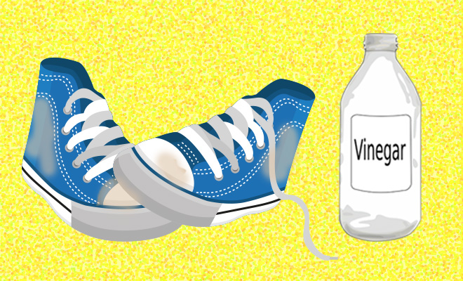 Style Hack_Cleaning Dirty Cloth Shoes With Vinegar_Hauterfly