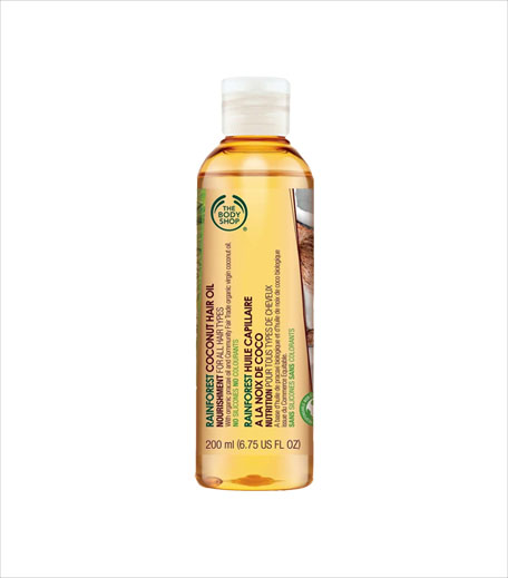 The Body Shop Rainforest Coconut Hair Oil In-post