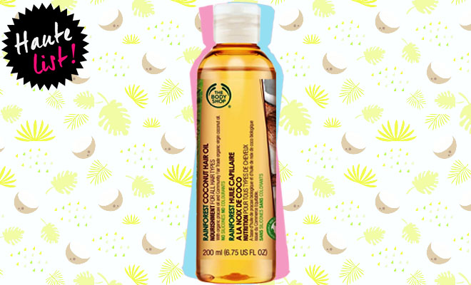 The Body Shop Rainforest Coconut Hair Oil_Hauterfly