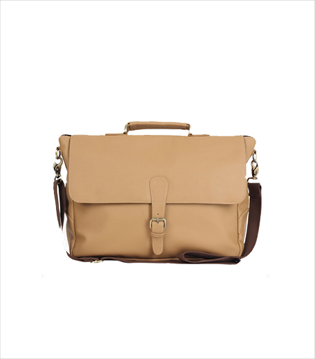 The House Of Tara Beige Laptop Bag_Hauterfly
