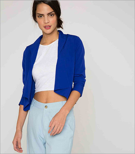 The Label Life Cobalt Wwaterfall Jacket_Cropped Jacket Trend Spring Summer 2016_Hauterfly
