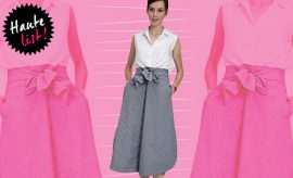 The Label life_Gingham Self Tie Skirt_Featured_Hauterfly
