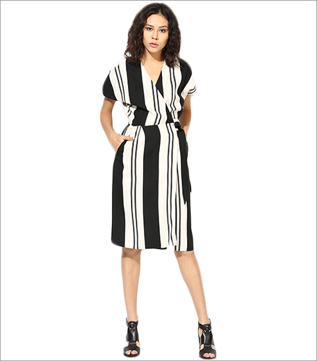 Topshop Stripe Wrap Dress_Hauterfly