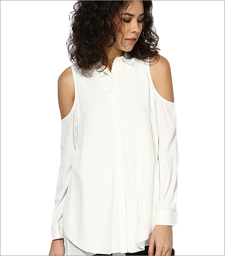 Topshop_Ivory Solid Shirt_Hauterfly