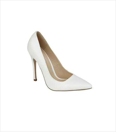 Truffle Collection White PU Pumps_Hauterfly