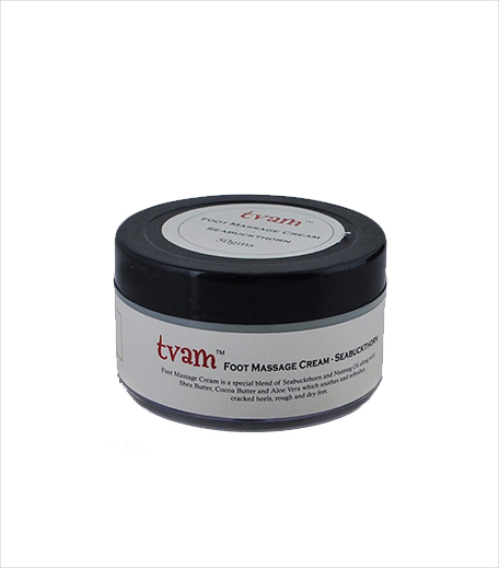 Tvam Foot Massage Cream Sea Buckthorn_Hauterfly