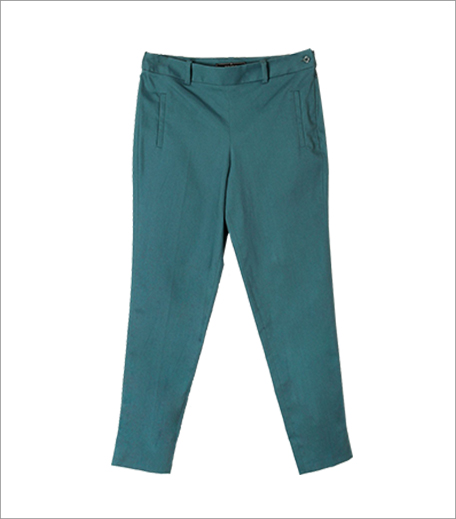 Vajor Teal Trousers_Hauterfly