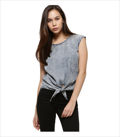 Vero Moda Denim Top_Hauterfly