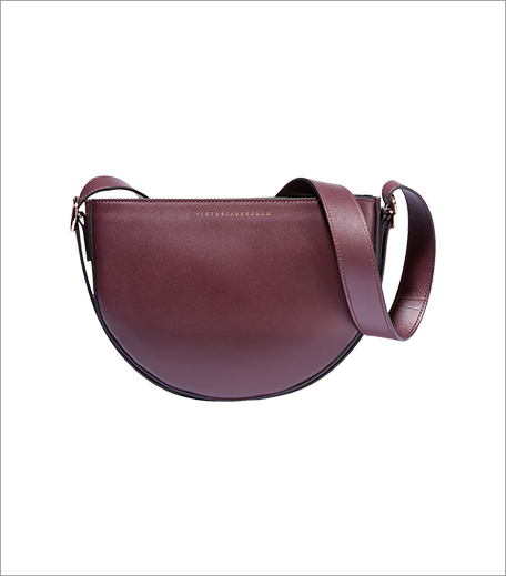 Victoria Beckham Baby Half Moon Leather Shoulder Bag_Half Moon Bag Style_Hauterfly