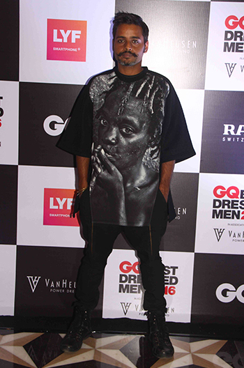 Vijendra Bhardwaj , Fashion Director, GQ India at GQ Best Dressed Men 2016 held at Four Seasons Hotel, Mumbai _ 02 June 2016