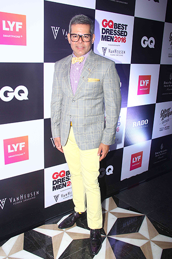Vikram Raizada at GQ Best Dressed Men 2016 held at Four Seasons Hotel, Mumbai _ 02 June 2016