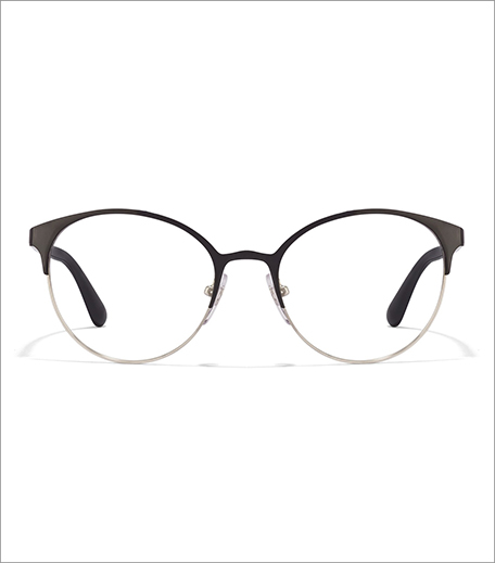 Vogue Black Silver Women's Eyewear