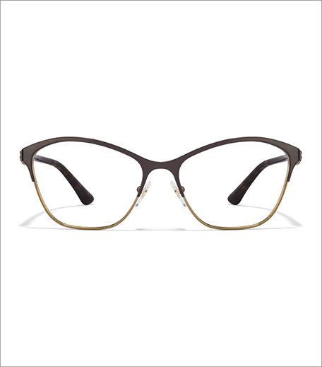 Vogue Brown Tortoise Women's Eyeglasses
