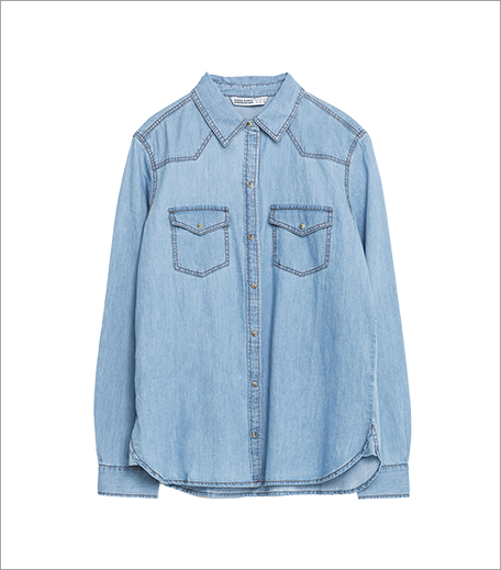 Zara Basic Denim Shirt_Hauterfly
