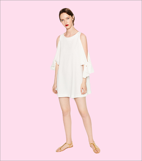 Zara Cut-Out Sleeve Dress1_Hauterfly
