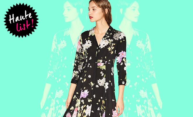 Zara FLORAL PRINT DRESS Featured_Hauterfly