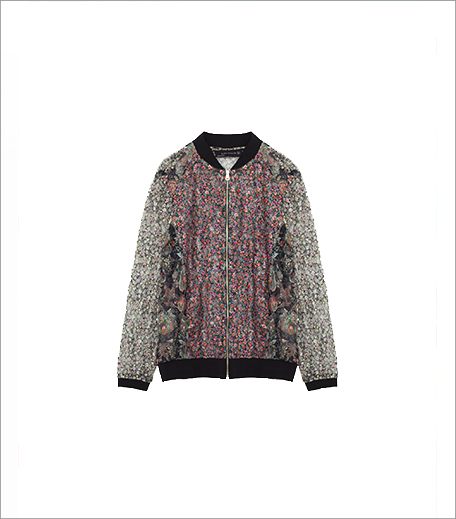 Zara Lace Bomber Jacket_Hauterfly