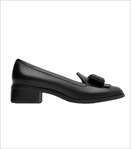 Zara Leather Loafers With Bow_Hauterfly